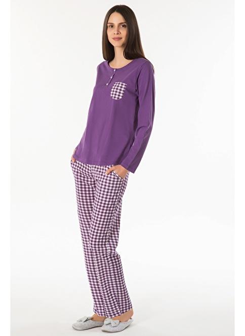 Kom Soft Pijama Mor